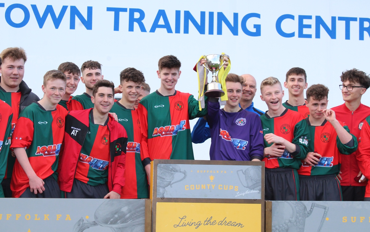 Boys U18 Cup Final Bacton Utd Bury Town May 2019 1