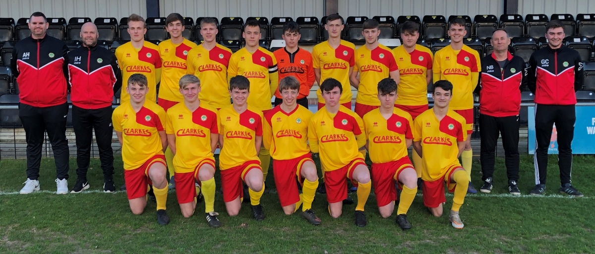 Walsham le Willows U18 squad photograph May 2019