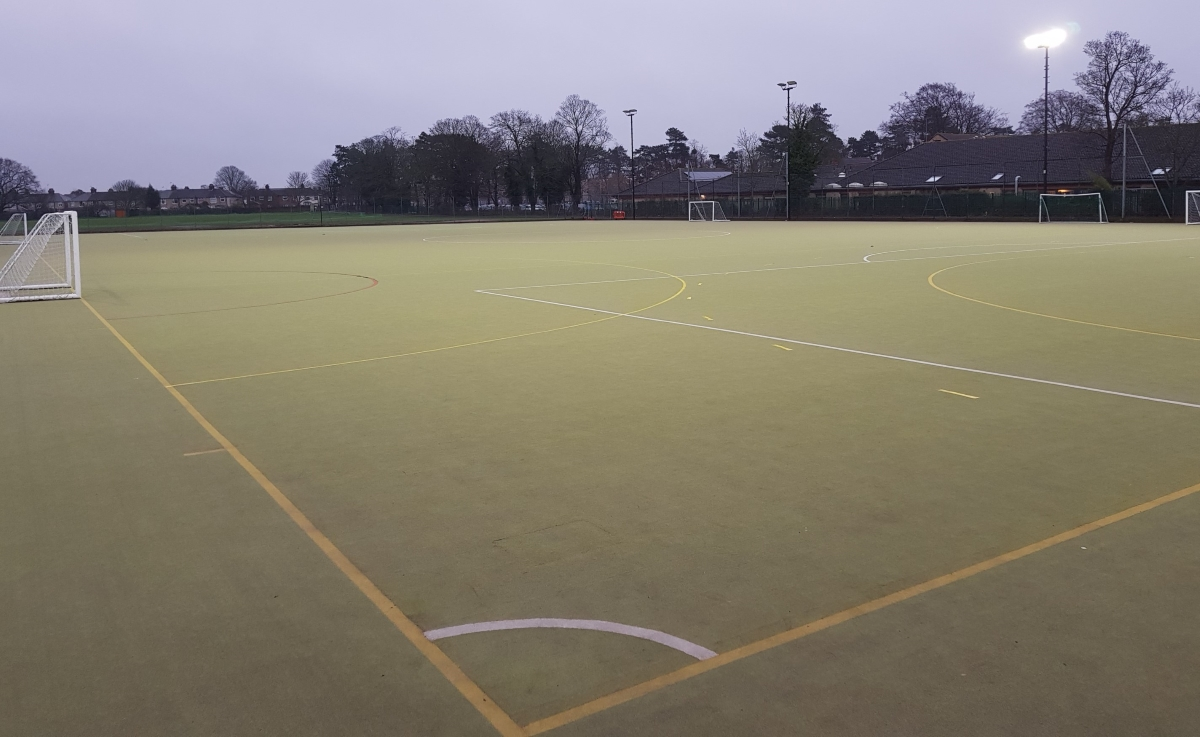 Copleston 3G pitch Mar 2020 1