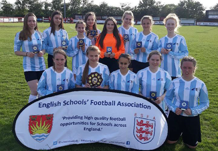 East Bergholt U16 Girls May 2018