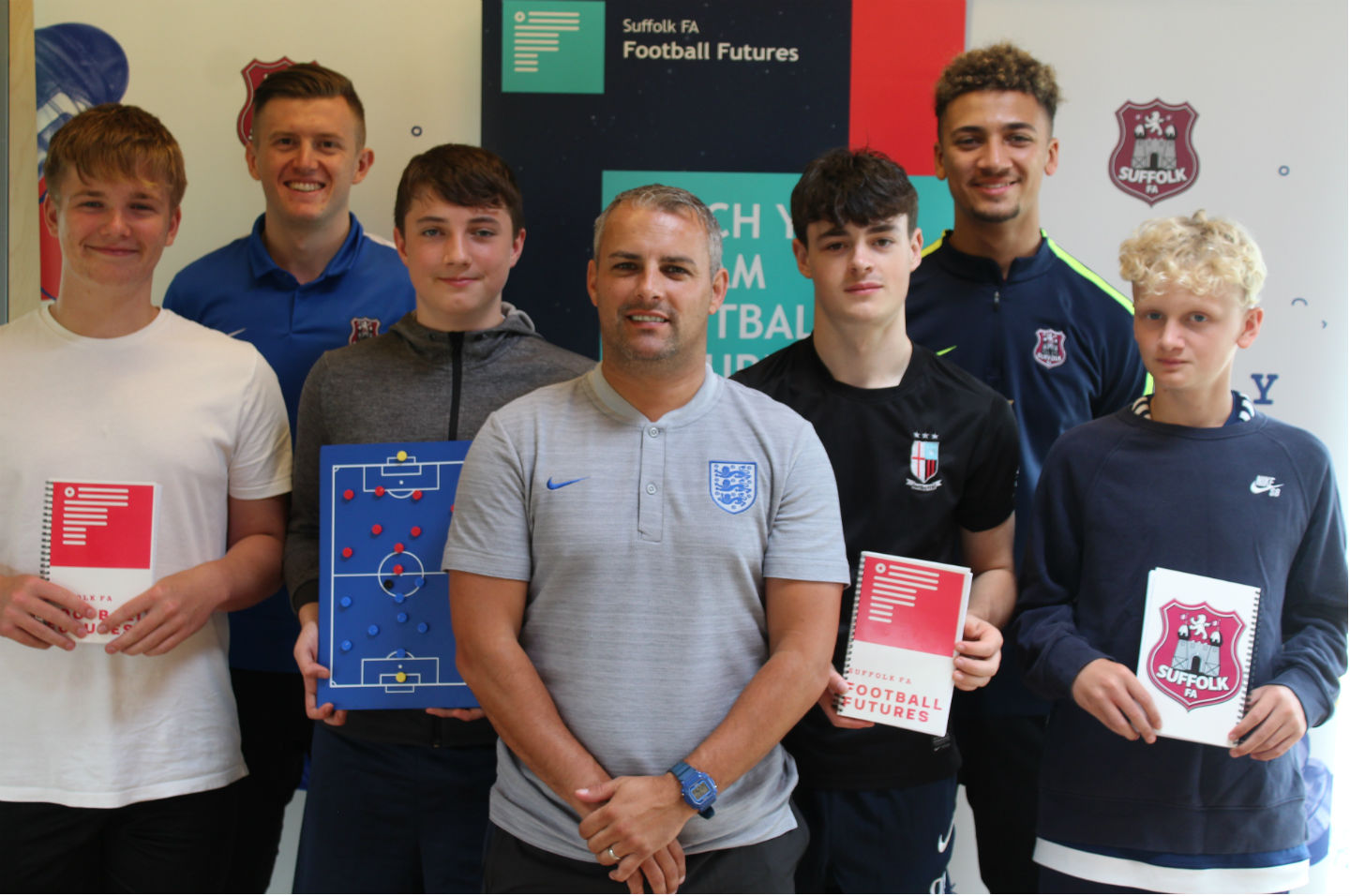 b6031b698 Football Futures stage first event - Suffolk FA