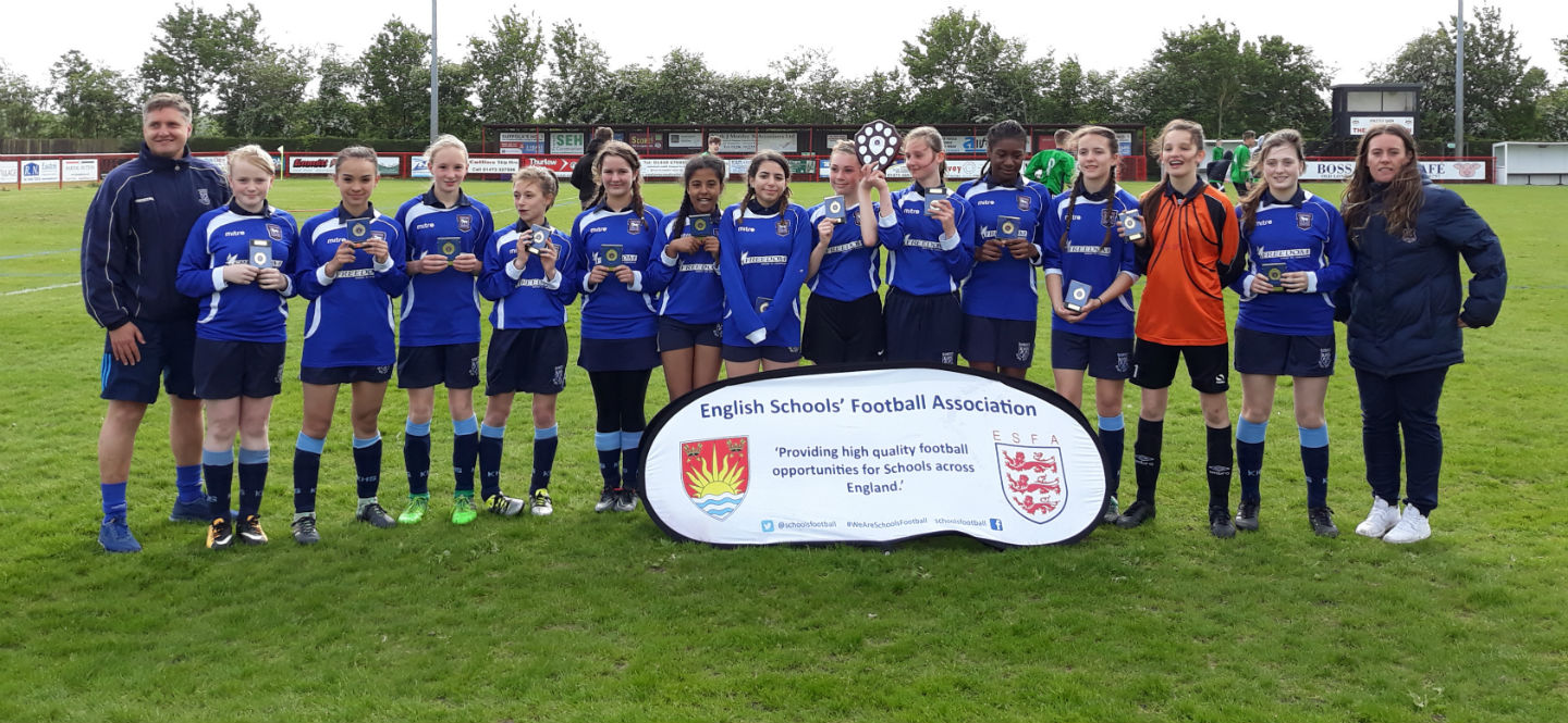 Kesgrave U14 Girls May 2018