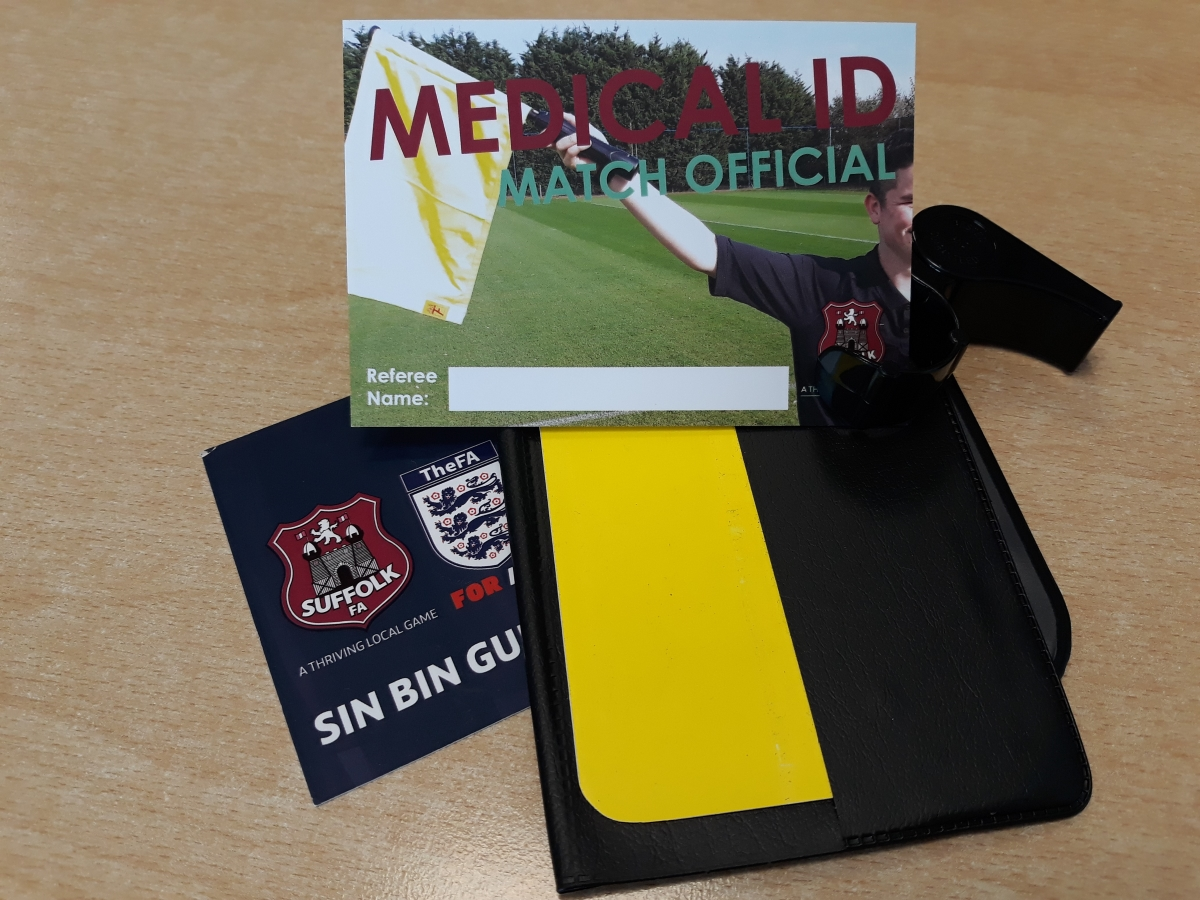 Referee Medical ID Cards Feb 2020 2