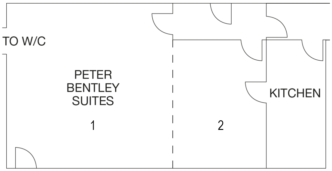 Peter Bentley Suites layout