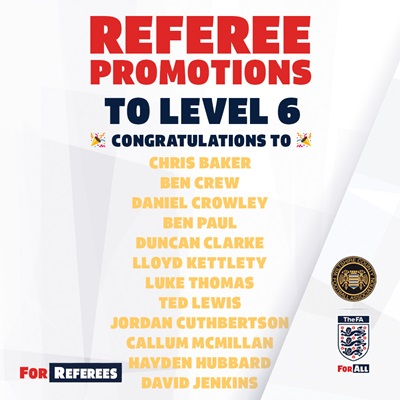 referee promotion