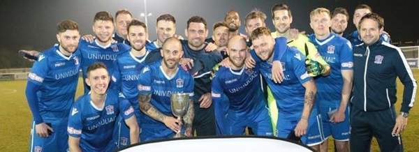 Supermarine FC winners of Wiltshire FA Senior Cup