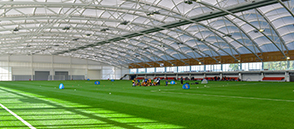 Indoor 3G pitch at St. George