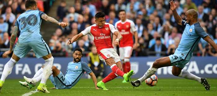 Image result for Arsenal vs Manchester City finals