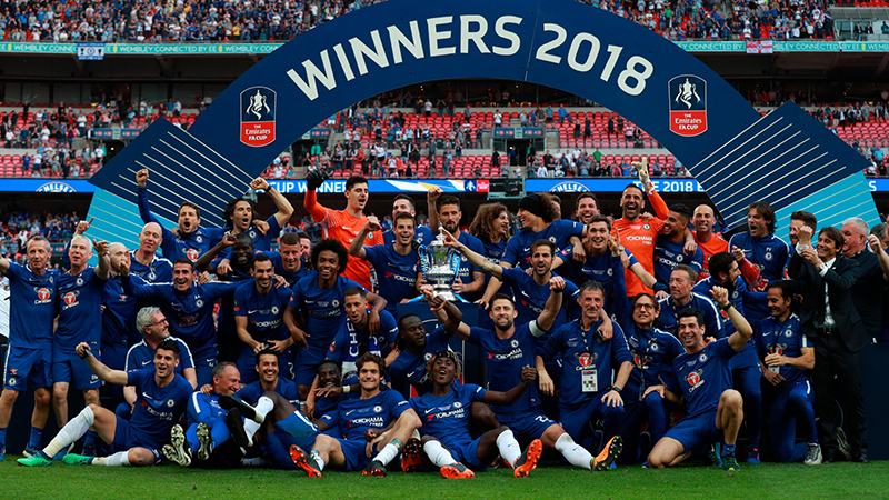Fa Cup Final Chelsea 1 0 Man Utd