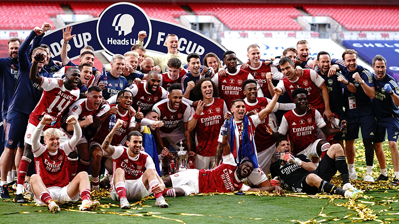 Fa Cup Final Report Arsenal 2 1 Chelsea