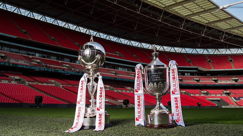 The Buildbase Fa Trophy And Fa Vase Semi Final Draws Made At Wembley