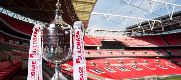 The Buildbase Fa Vase First Round Proper Draw Was Made At Wembley
