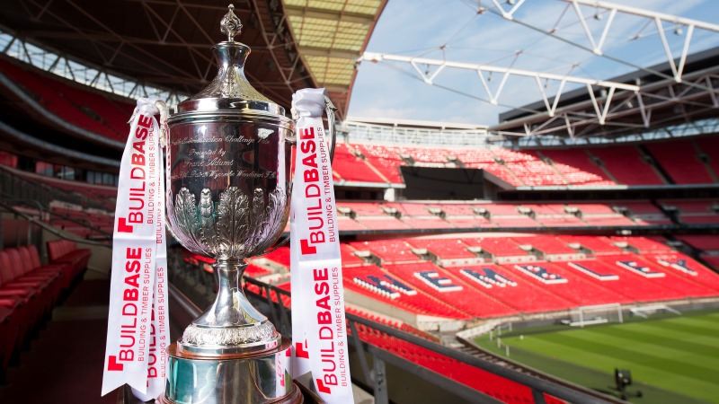 The Fa Vase First Round Proper Draw Made At Wembley