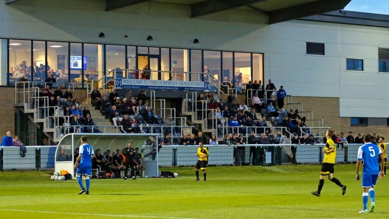 Melksham Town Reap The Benefits Of New Home As Buildbase Fa Vase