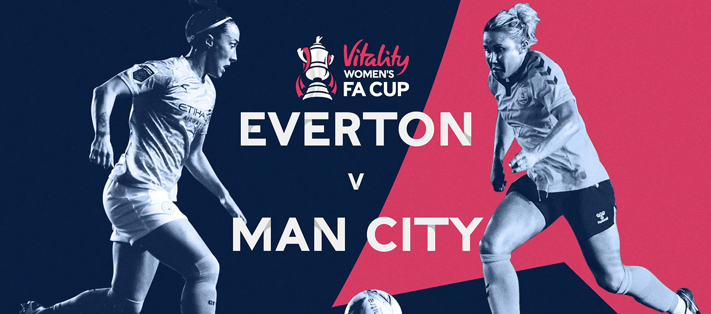 Everton v Man City FA Cup Final match programme