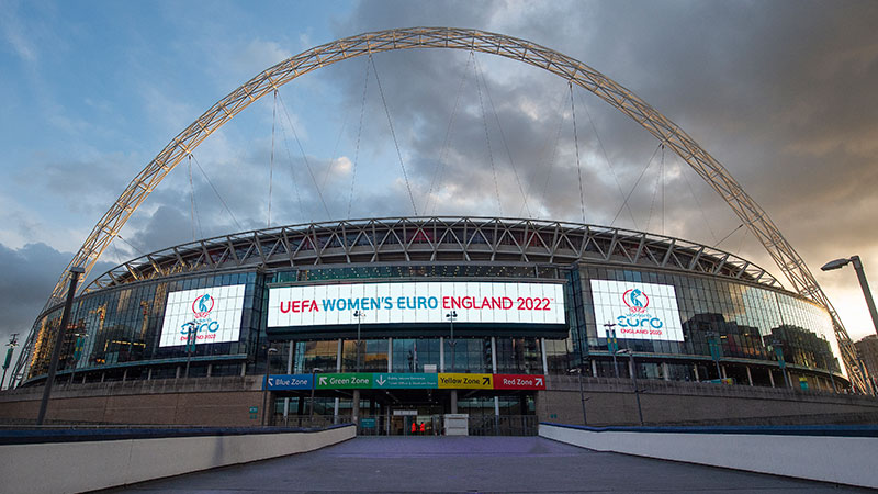 The stage is being set for summer 2022 England where the best of Europe will compete to become champions.