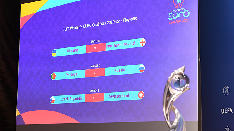UEFA Women's EURO play-off draw made
