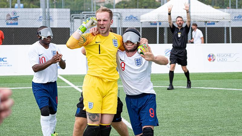 best website 6b3e0 ca3d3 England's blind team beat Greece 3-0 in IBSA Euro Finals
