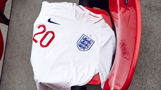 b3200e6b577 Nike unveil new England home and away kits for 2018 World Cup