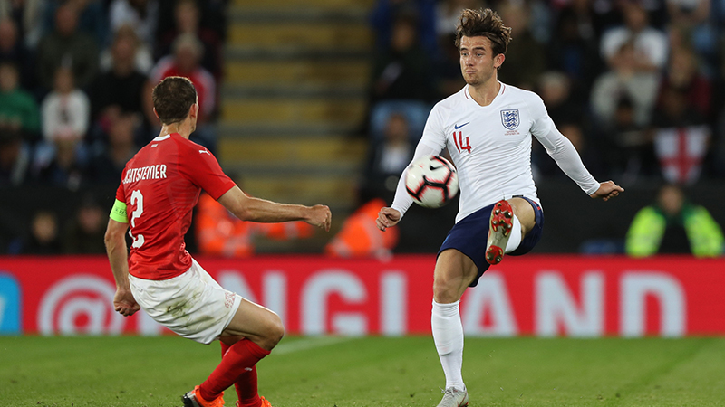 Leicester's Ben Chilwell reflects on England debut