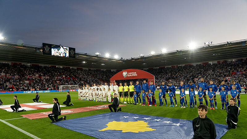 England v Kosovo Southampton St Marys team line up