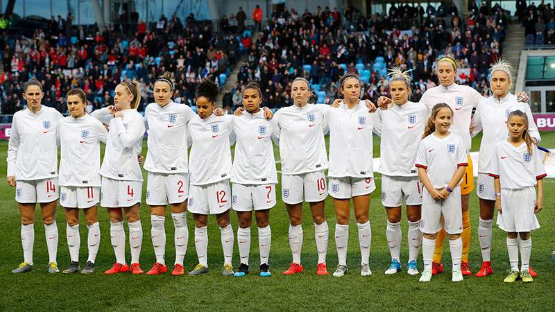 check out fbffe 17f7d England Women's Senior football squad