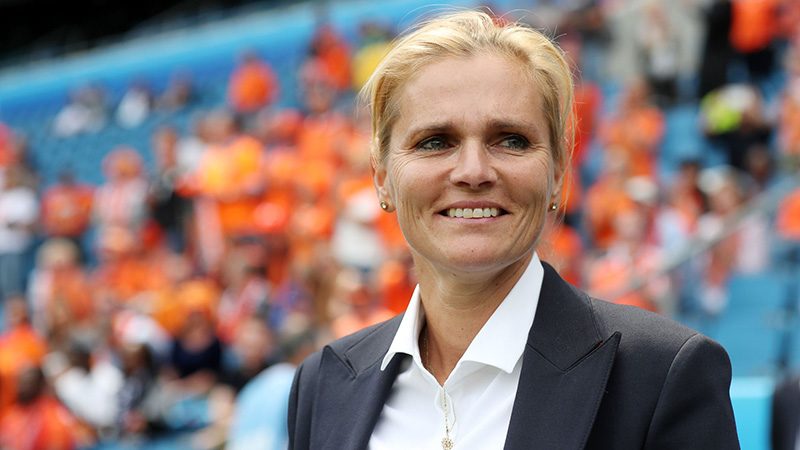 Sarina Wiegman appointed as new England Women's head coach