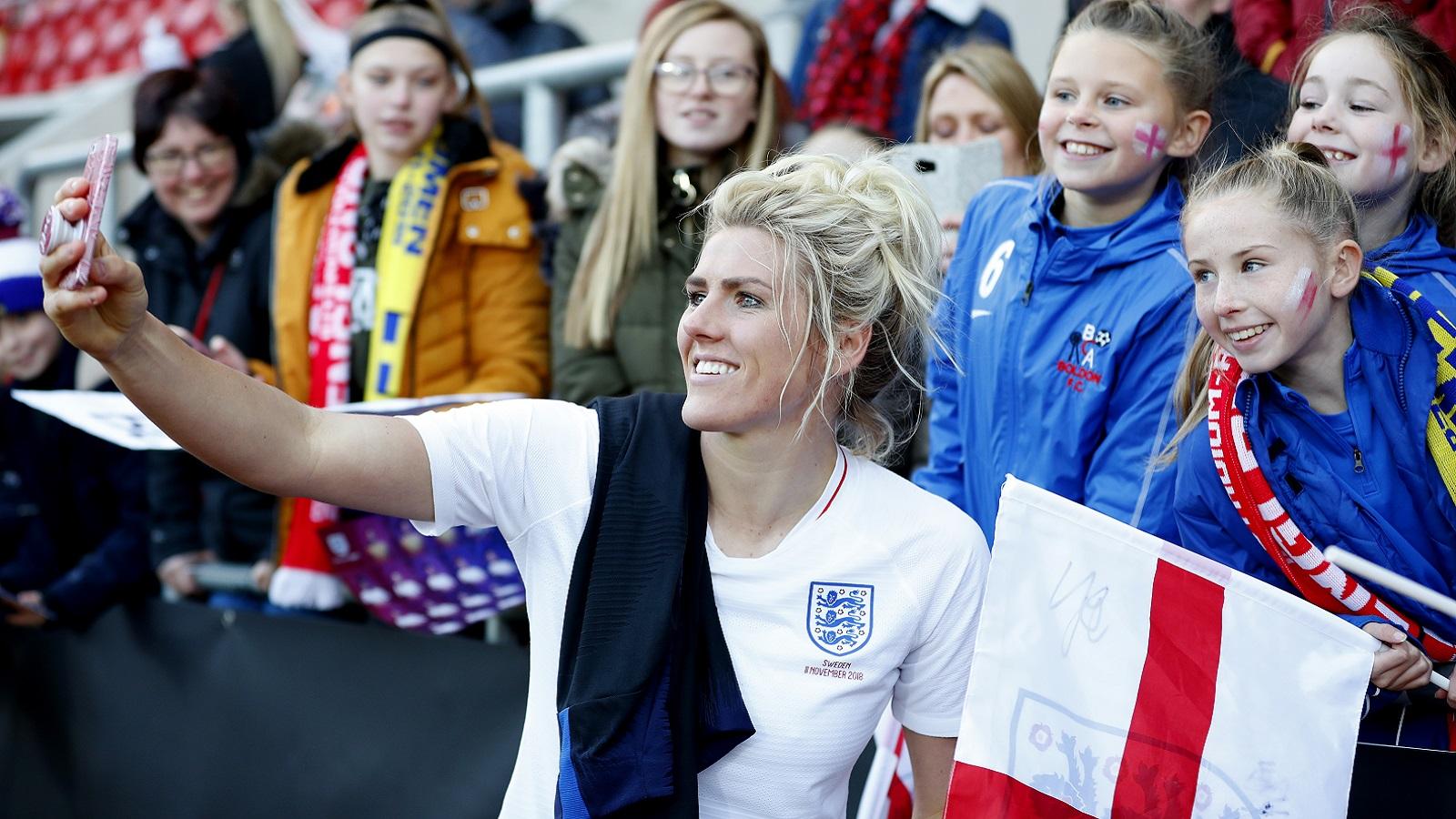 The England Women's Senior Football Team