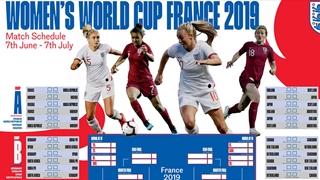 FIFA Women's World Cup wallchart