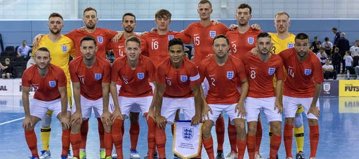 England Futsal Team News Fuxtures And Results