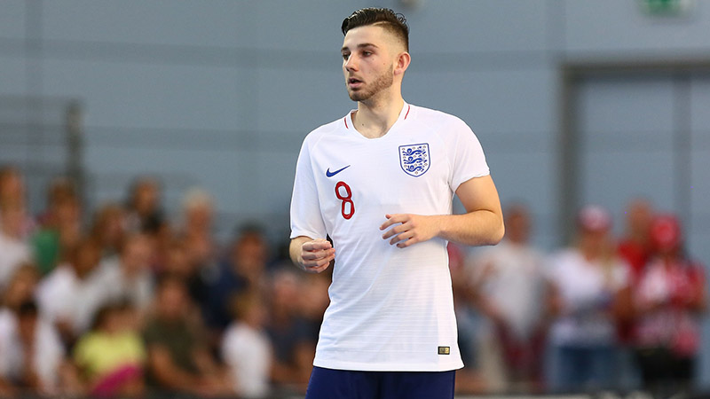 England Futsal's Liam Palfreeman on his development at home and abroad