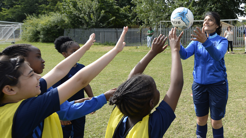 The FA launches new coaching initiative aimed at tackling  under-representation in the game e2a2a14413