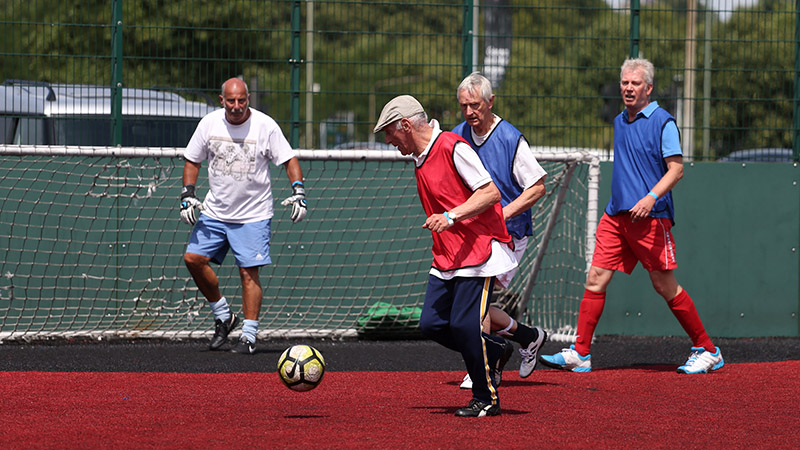 Plans to grow walking football in England revealed