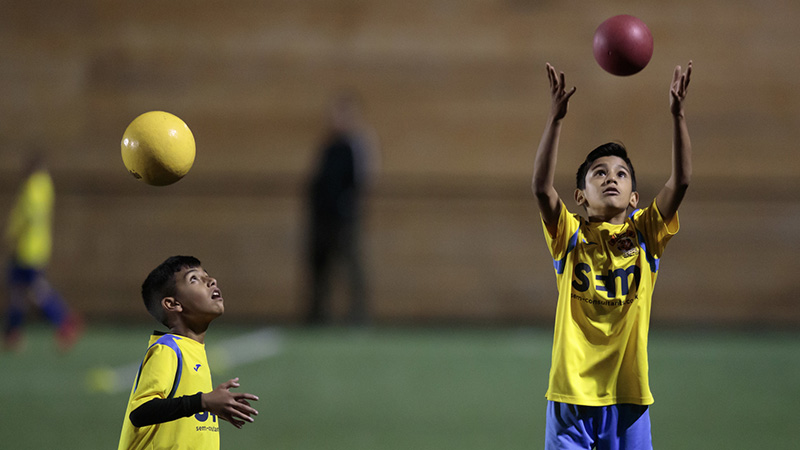 Football chiefs ban heading in training for young children