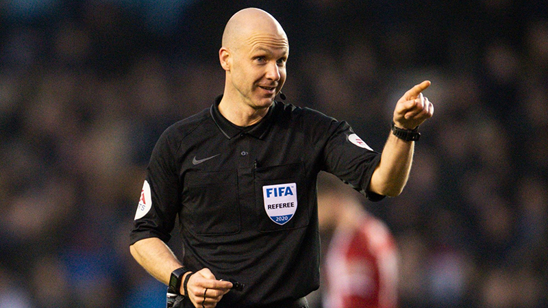 Anthony Taylor to referee FA Cup Final for a second time