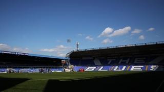 Birmingham City v Aston Villa Incident