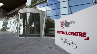 The website for The FA's national football centre, home of