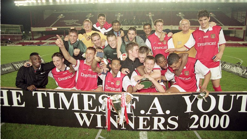 2000 FA Youth Cup Winners - Arsenal