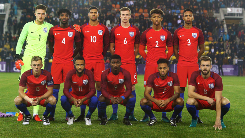 The England Under-21s line-up who beat Kazakhstan in Aktobe to secure Euro qualification