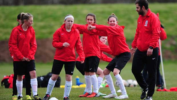 FA Girls  England Talent pathway c6d92db4a