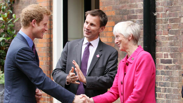 Baroness Sue Campbell meets Prince Harry