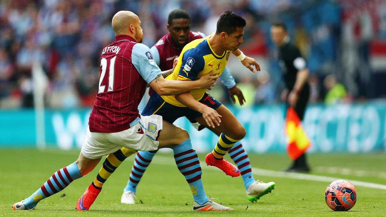 Image result for aston villa v arsenal fa cup final