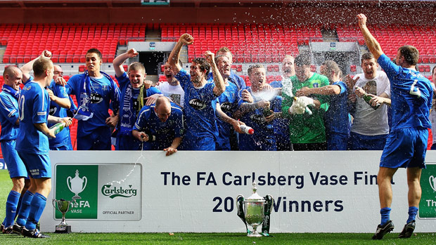 2012 Fa Vase Winners Dunston Uts Progress Into The Sixth Round With