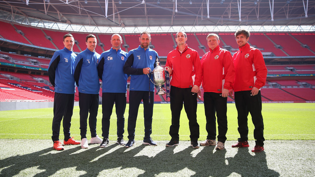 Glossop north end and north shields players get a taste of wembley glossop north end and north shields players get a taste of wembley ahead of the fa vase final reviewsmspy
