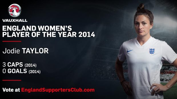 Women s Player of the Year contender  Jodie Taylor e8b3afebe0