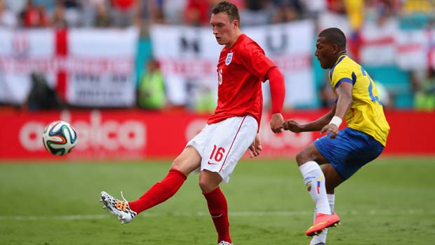Phil Jones 'thankful' to be fit in time for the World Cup