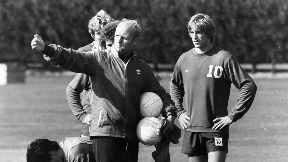 Don Howe while coach of Arsenal