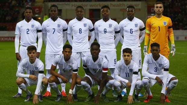 England Under-17s line-up to face Germany in Rotherham