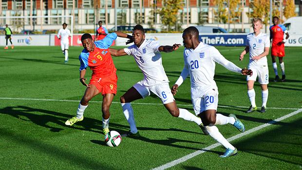 England U17s v DR Congo