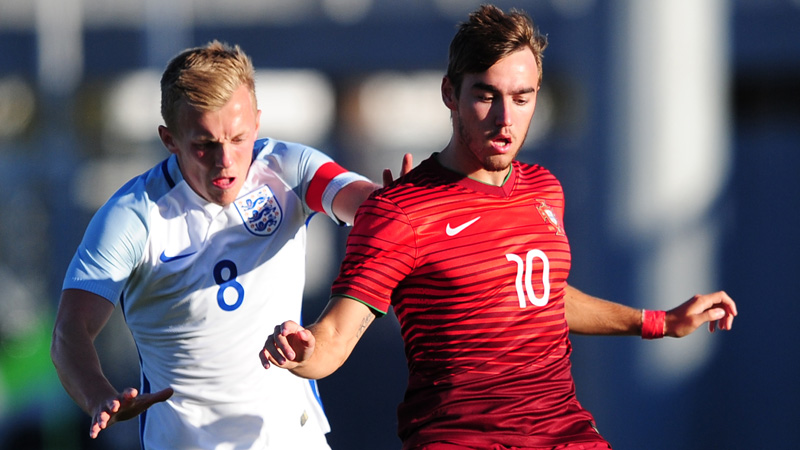 James Ward-Prowse challenges Portugal